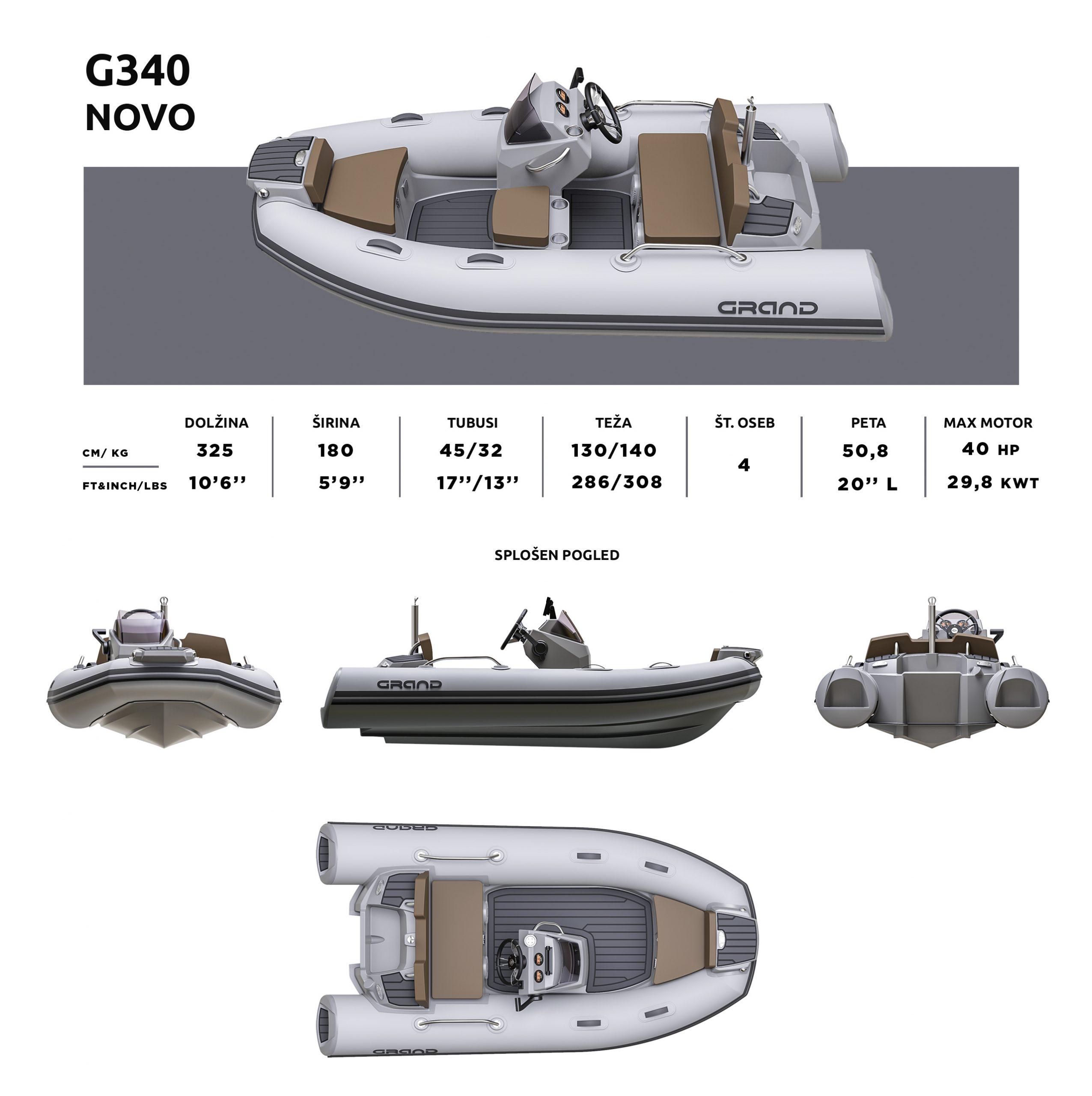 GRAND G340 specifikacija